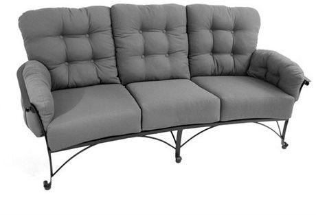 Meadowcraft Outdoor Patio Vinings Sofa 01