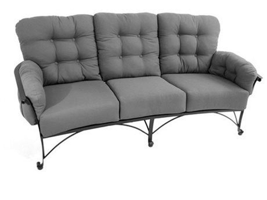 Meadowcraft outdoor patio vinings sofa 2851000 01 for Furniture 4 less decatur al