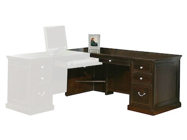 Kathy Ireland™ Home by Martin Desk for Left Hand Facing Keyboard Return FL684L