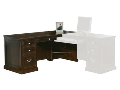 Kathy Ireland™ Home by Martin Desk for Right Hand Facing Keyboard Return FL684R