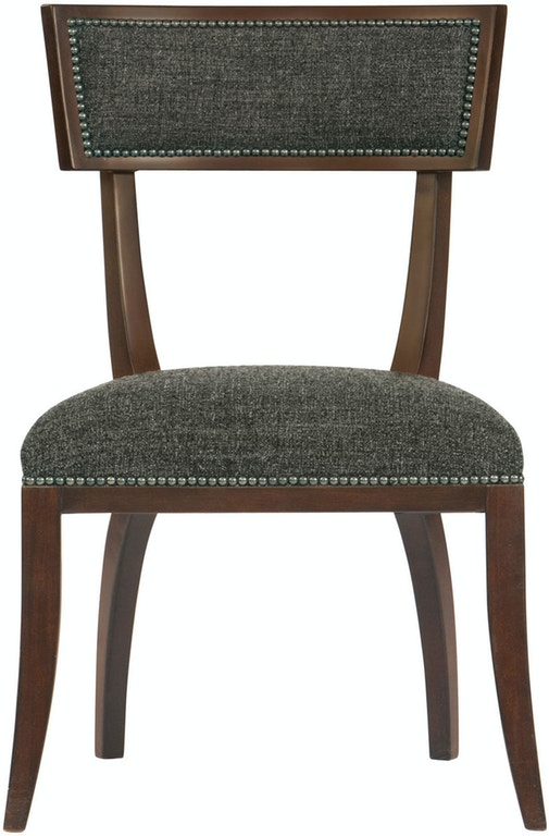 Bernhardt interiors dining room dining side chair 320 555 - Georgia furniture interiors savannah ga ...