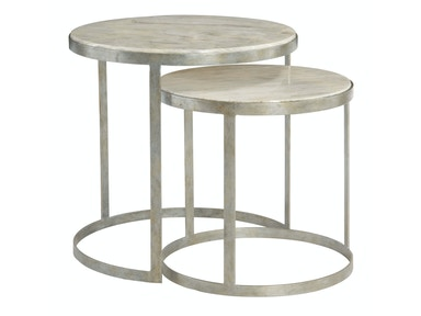 Bernhardt Interiors Living Room Nesting Tables