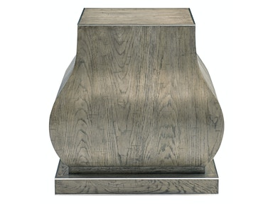 Bernhardt Interiors Living Room Pedestal Chairside Table