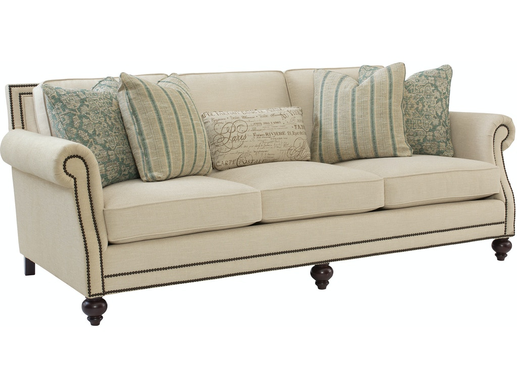 Bernhardt living room sofa b6717 hamilton sofa leather for Bernhardt furniture