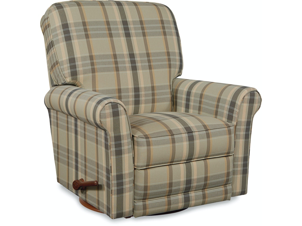 La Z Boy Living Room Reclina Rocker Recliner 010764 Valley Furniture Company Havre Mt