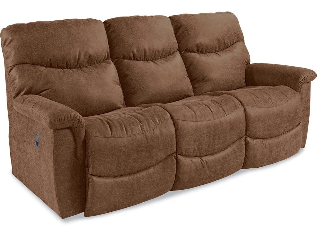 La Z Boy Living Room Full Reclining Sofa 440521 Davis