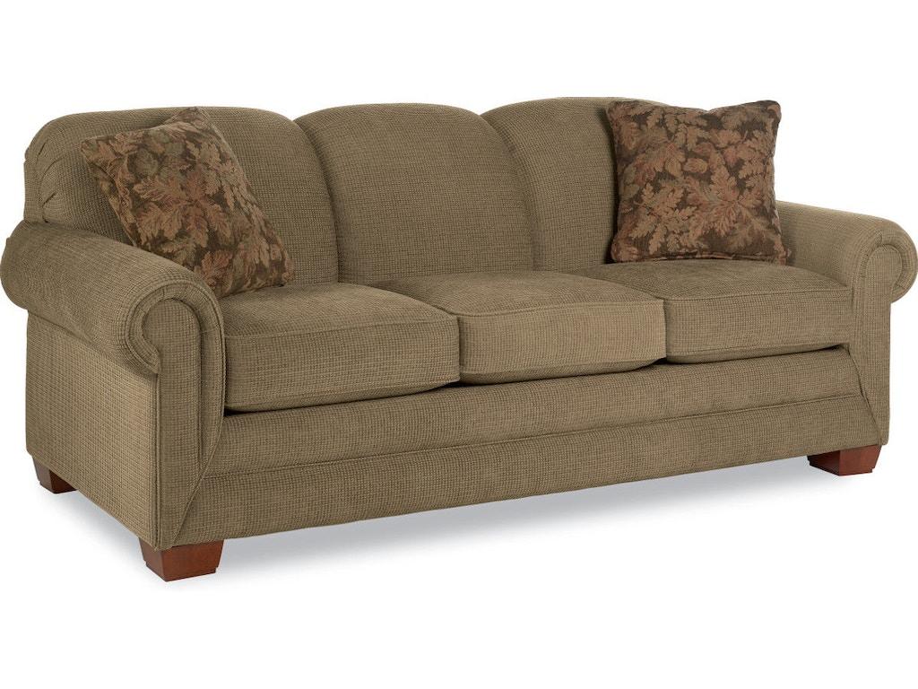 Living Room Mackenzie Three Cushion La Z Boy Premier Sofa 610435 Evans Furniture Galleries
