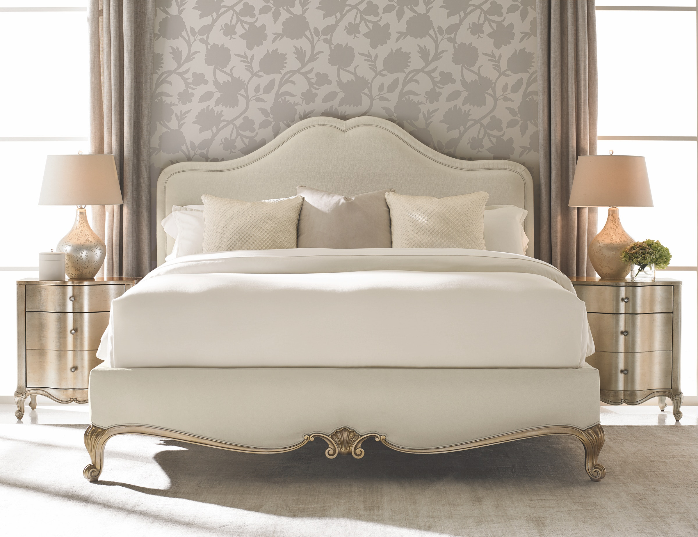 ... Caracole Night And Day Queen Bed CLA 416 104 ...