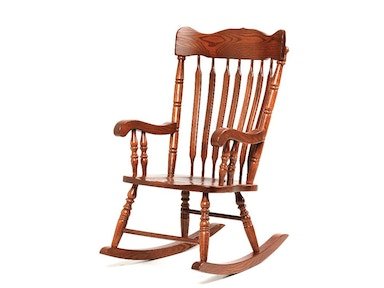 Y and T Woodcraft Grandfather Rocker 121401