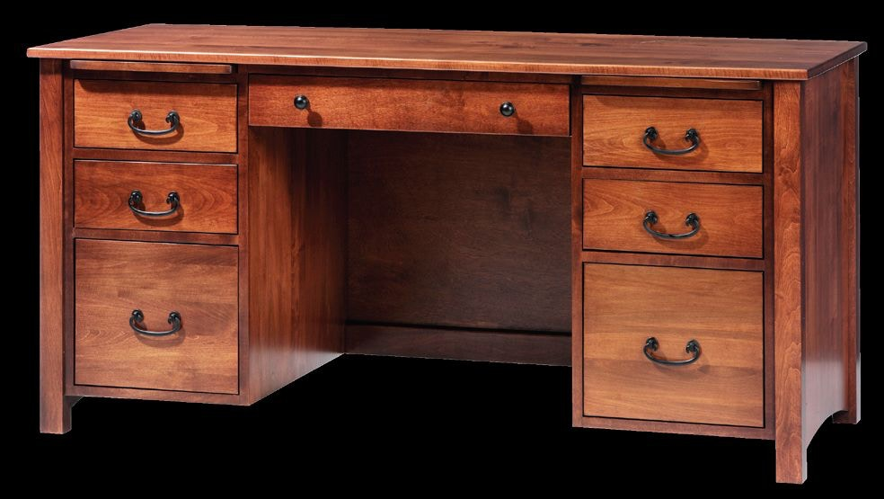 Y and T Woodcraft Home fice Rivertowne Desk 2077