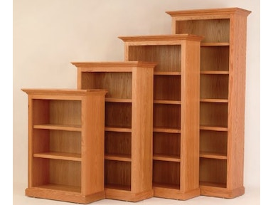 Y and T Woodcraft Heirwood Executive Bookcase 3648