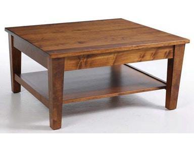 Y and T Woodcraft Urban Shaker Square Coffee Table 516