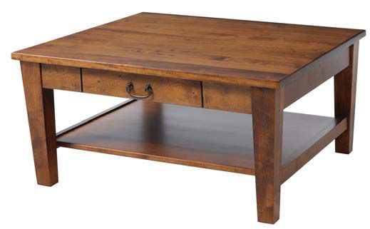 Y And T Woodcraft Living Room Urban Shaker Coffee Table