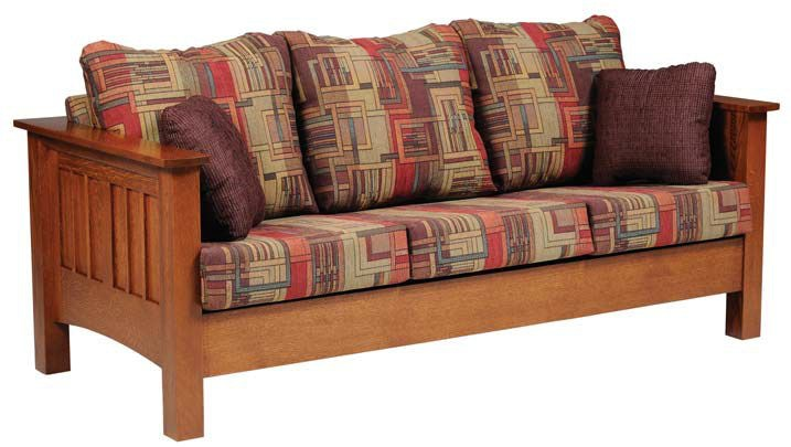 Superbe Y And T Woodcraft Living Room Mission Sofa
