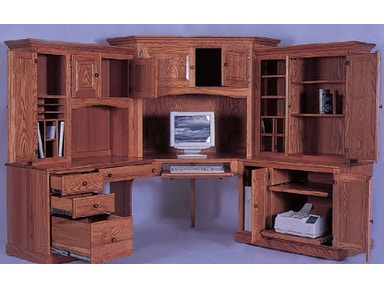 Y and T Woodcraft Heirwood 6 Piece Computer Center 80