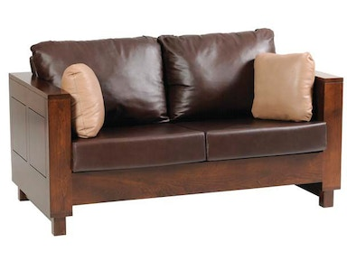 Y and T Woodcraft Urban Loveseat 8001