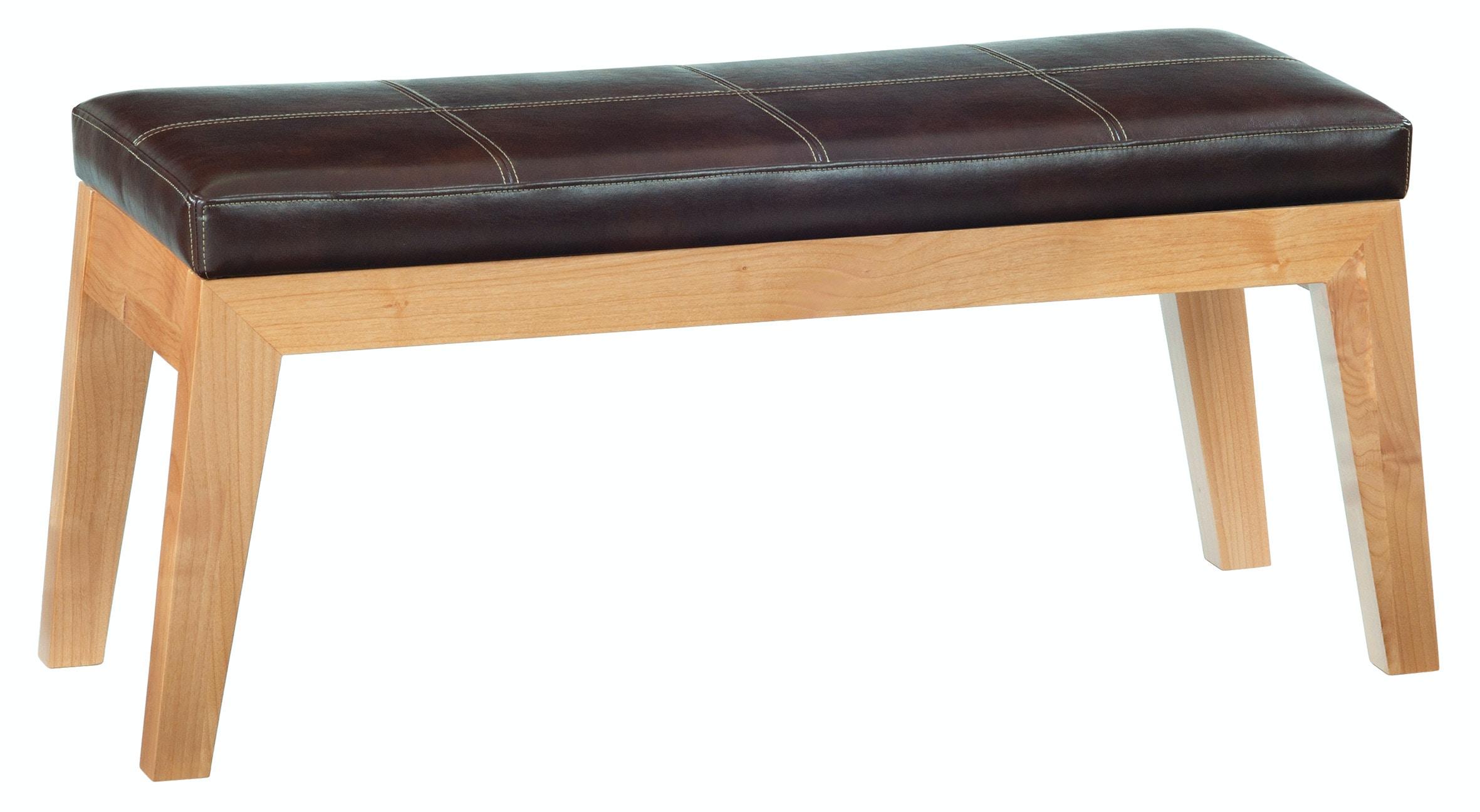 1242DUET. DUET Addison Upholstered Bench