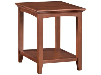 Whittier Wood Products GAC McKenzie Side Table 3498AFGAC