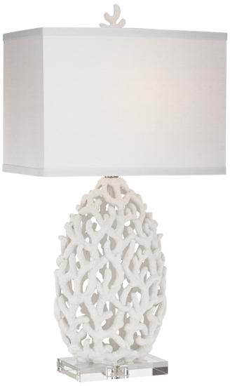 lighting treasures. Kathy Ireland Home By Pacific Coast Lighting Ocean Treasures Table Lamp 87-08167-70 G