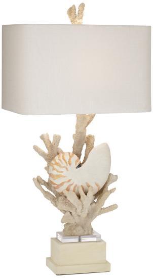 kathy ireland lighting. Kathy Ireland Home By Pacific Coast Lighting Hanauma Bay Table Lamp 87-7919-48 I