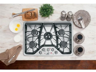 "GE Cafe Kitchen 30"" Built-In Gas Cooktop"