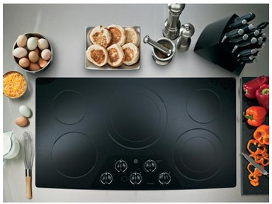 "GE Profile Kitchen 36"" Built-In Electric Cooktop"