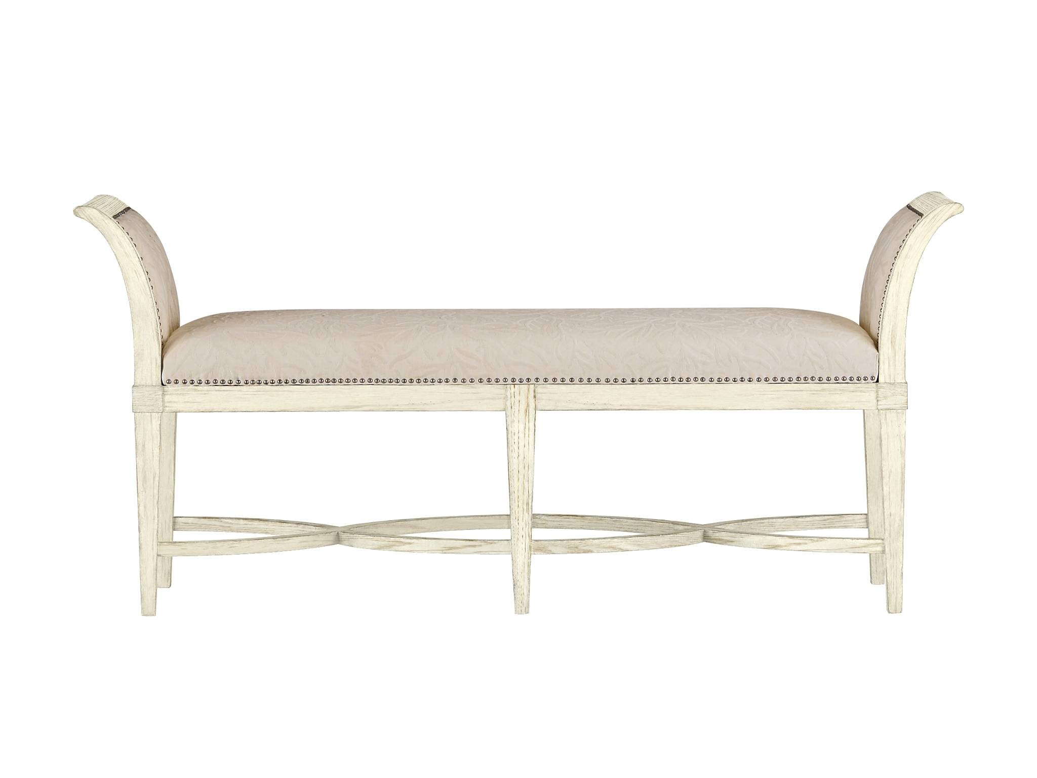 Elegant Coastal Living Surfside Bed End Bench 062 A3 72