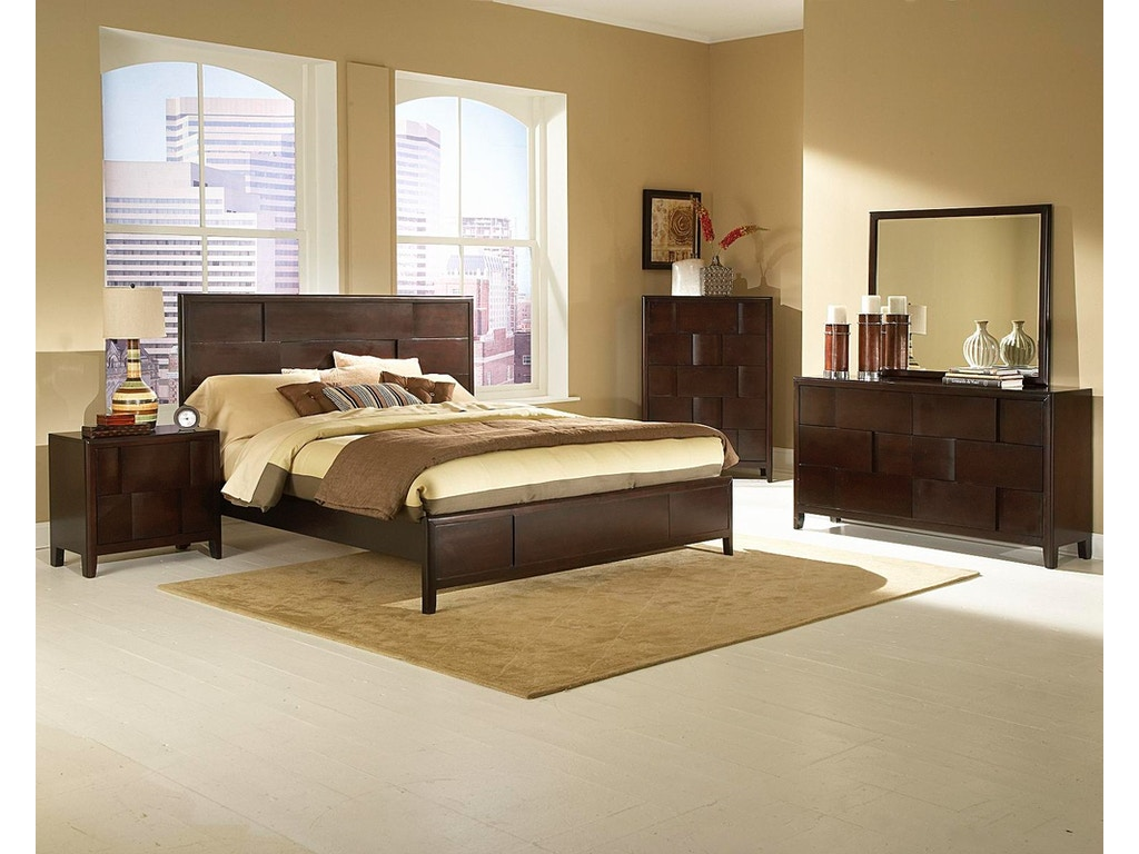 Lifestyle Furniture Bedroom Sets Lifestyle Furniture 0183 Queen Bedroom Set 6 Piece Package