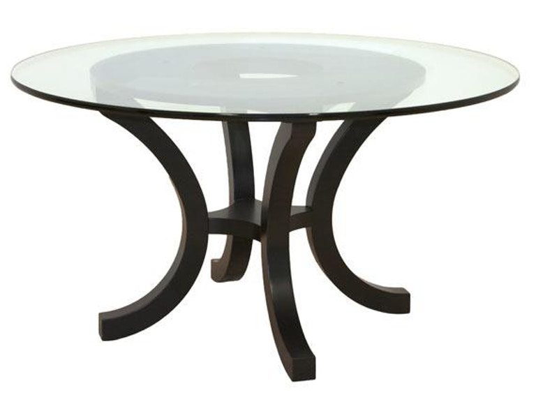 Canal Dover Furniture Richmond Glass Top Table 24002