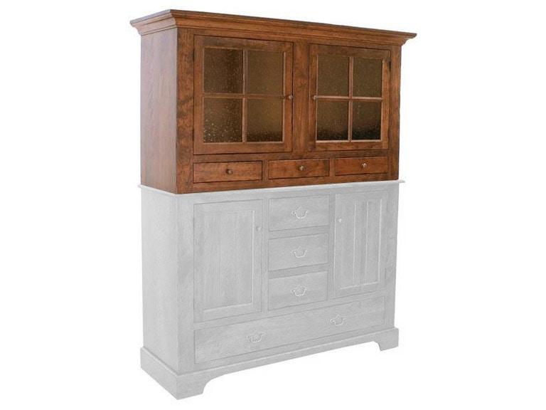 Canal Dover Furniture Williamsburg Hutch with Leaf Storage 30024