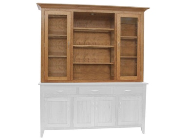 Canal Dover Furniture Modern Shaker Hutch 31013