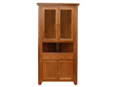 Canal Dover Furniture Valley Shaker Corner Hutch 31028
