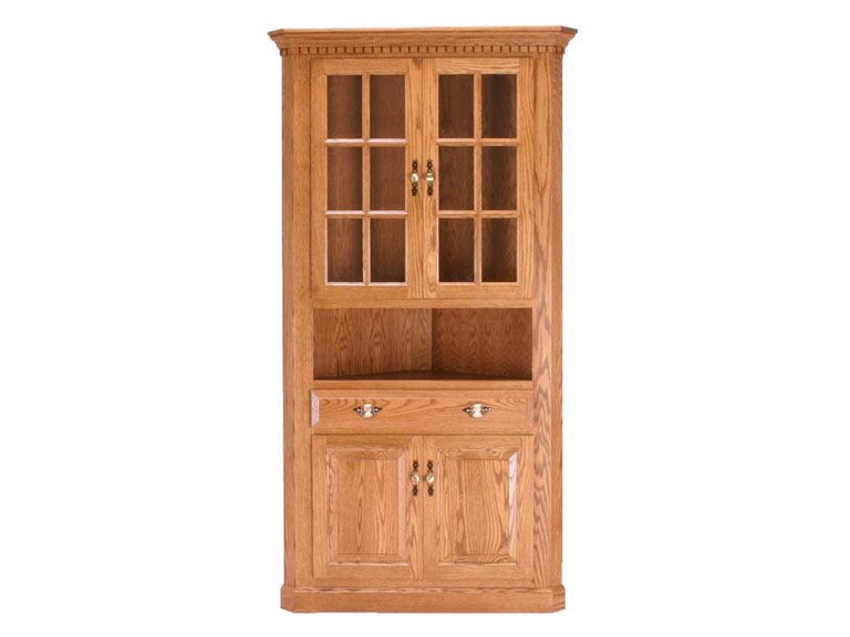 Canal Dover Furniture Traditional Corner Hutch 37060