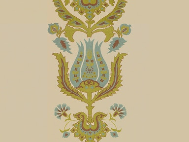 Brunschwig & Fils THE FLOWERS OF JAMAKHANA AQUA/CHARTREUSE BR-800052.M24