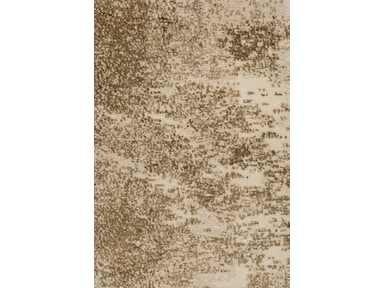 JD Staron Rugs ABSTRACT TIBETAN-STRIPE BROWN-BEIGE
