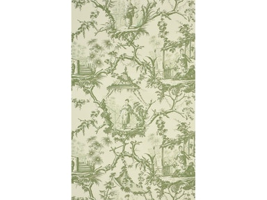 Brunschwig & Fils PLAISIRS D INDOCHINE GREEN BR-69289.435
