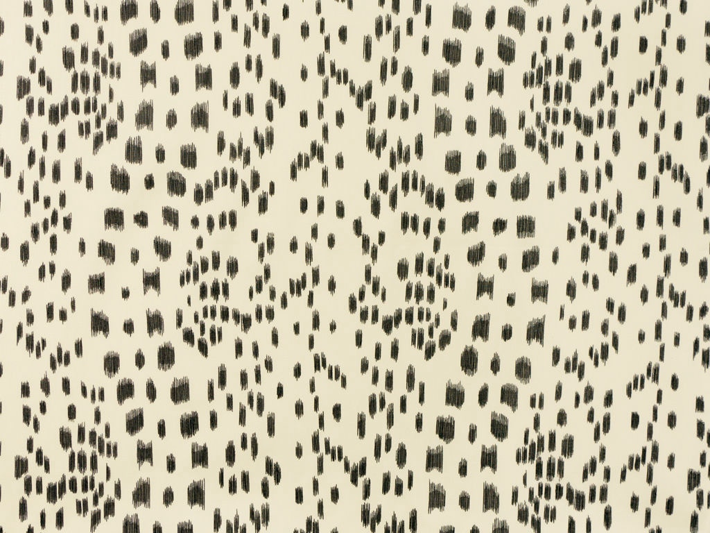 Brunschwig & Fils LES TOUCHES COTTON PRINT BLACK BR-79585.970