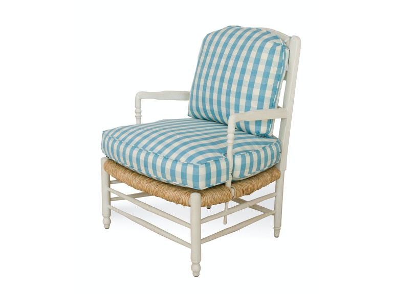 Brunschwig & Fils Provincial Ladderback Chair (Rush Seat) BR-A2006.Chair