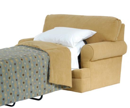 motion craft chair and a half twin sleeper 9015sku