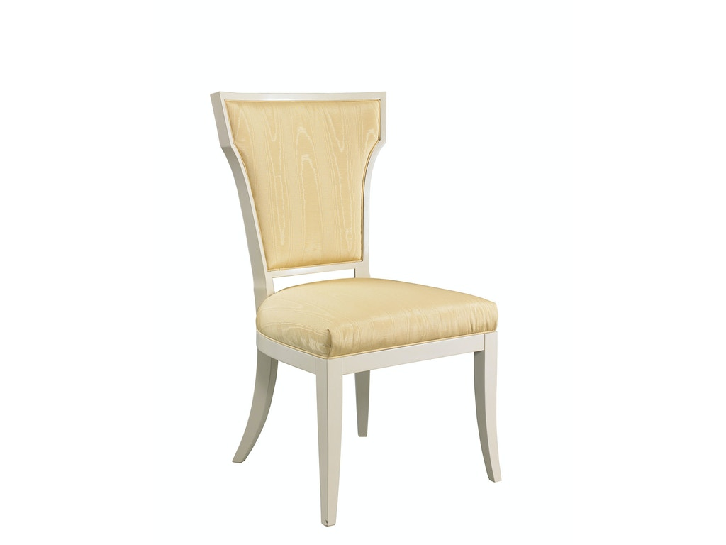 lillian august for hickory white dining room langley side chair