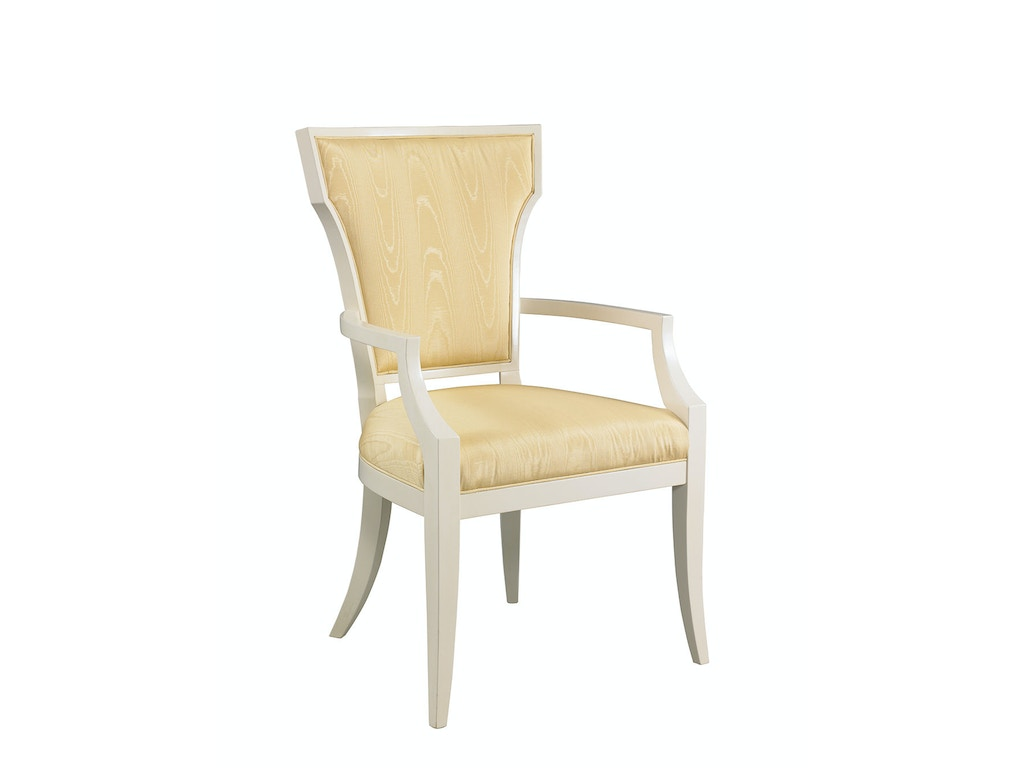 for hickory white dining room langley chair la1101c at noel furniture