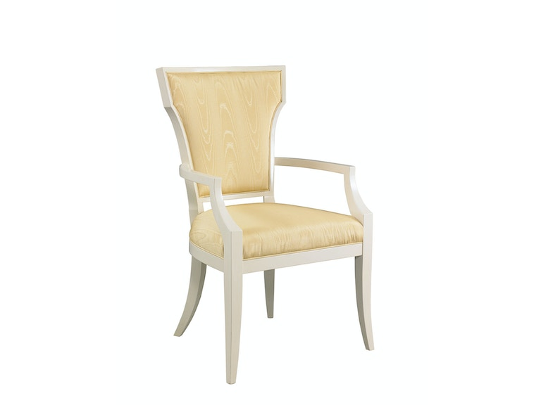 hickory white dining room langley chair la1101c at stowers furniture