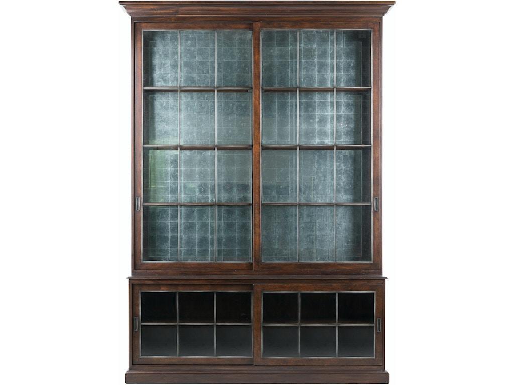 Lillian August Living Room Galbraith Sliding Door Cabinet La13041 Louis Shanks Austin San
