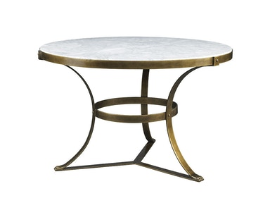 Lillian August for Hickory White Piers Center Table - Aged Gold LA13323-01