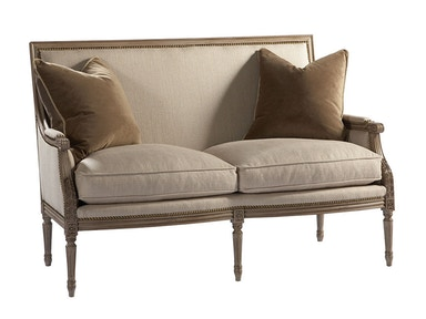 Lillian August for Hickory White Exeter Loveseat LA2103L