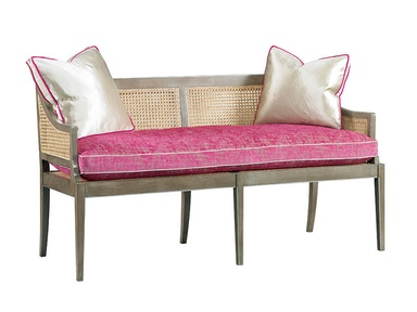 Lillian August for Hickory White Kendal Settee LA2109L