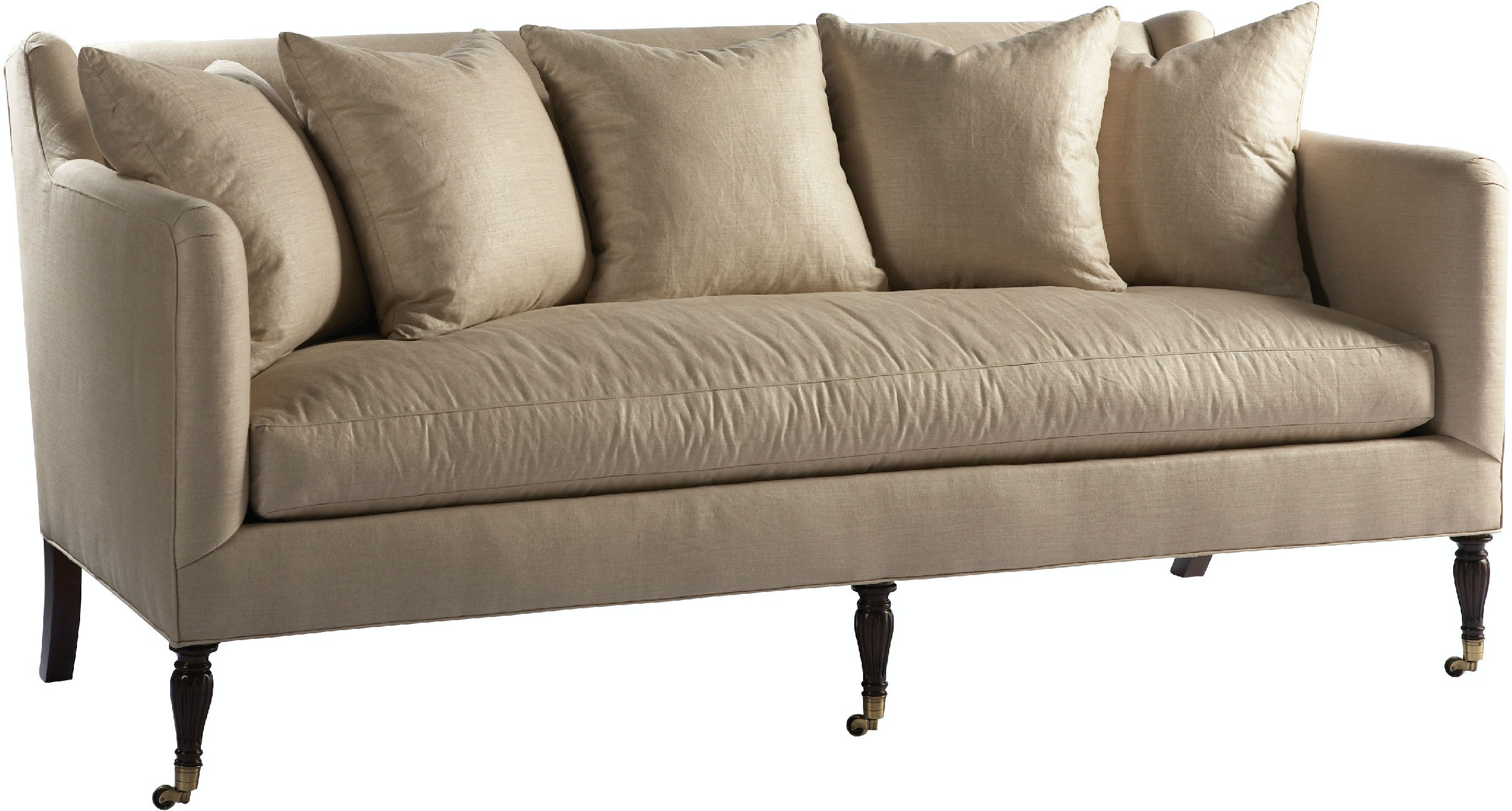Lillian August For Hickory White Living Room London Sofa LA7085S At Gehman  & Co