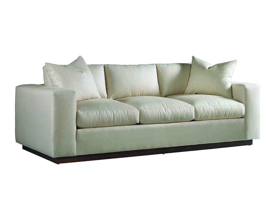 Lillian august for hickory white living room lange sofa for White sectional sofa houston