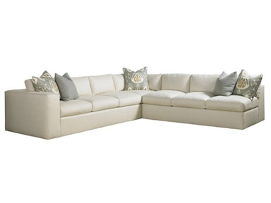 Lillian August for Hickory White Lange Sectional LA7140 Sectional