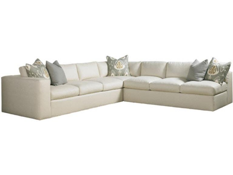 Lillian August For Hickory White Living Room Lange Sectional LA7140